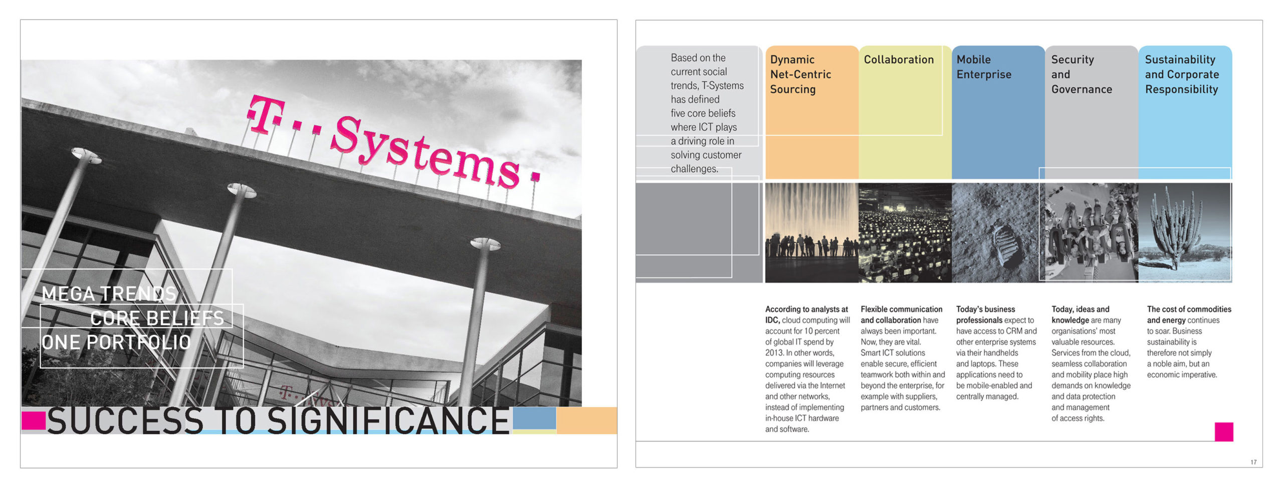 T-systems brochure