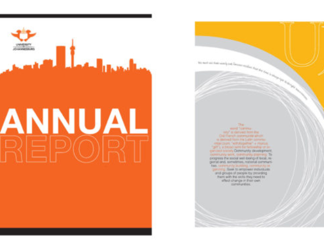 UJ Annual report